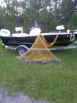 14 foot Towner Built 3/4 mesh shrimp net in like new condition for Sale in Pierson, FL