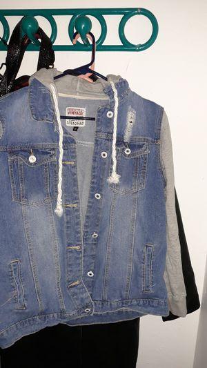 Bebehtest levi/ hoodie jacket for Sale in Salt Lake City, UT