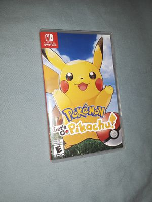 Pokemon Let's go with pokeball Plus for Sale in Apple Valley, CA