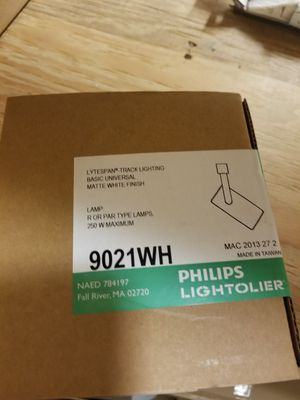 Lytespan Track Lighting. 9021WH Philips Lightolier for Sale in Seattle, WA