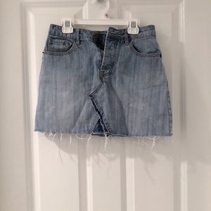 f21 denim skirt for Sale in Burke, VA