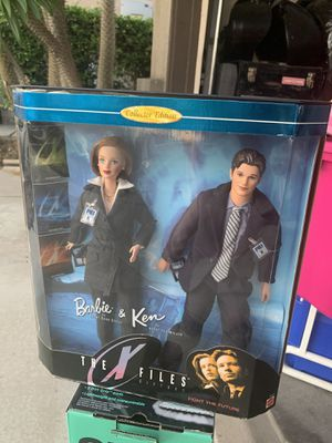 1998 VINTAGE X-FILES BARBIE AND KEN BRAND NEW! for Sale in Fontana, CA