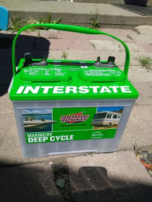 Brand NEW Interstate deep cycle RV battery for Sale in South Jordan, UT