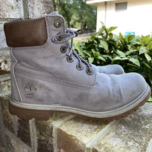 Ladies Timberland Work Boots Size 7.5 for Sale in Darlington, SC