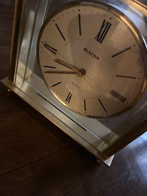 Bulova desk clock for Sale in Green Bay, WI