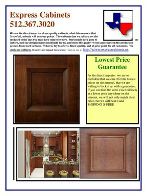 All wood kitchen cabinets for Sale in Cedar Park, TX
