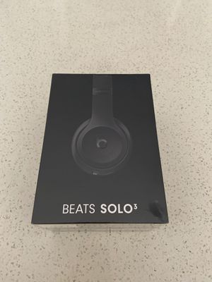 🌟Brand New!🌟 Beats Solo 3 - Black Matte -WIRELESS for Sale in Pittsburgh, PA