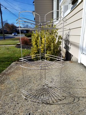 Attractive metal corner shelf for Sale in Cranston, RI