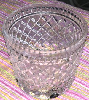 Crystal vase for Sale in Fort Worth, TX