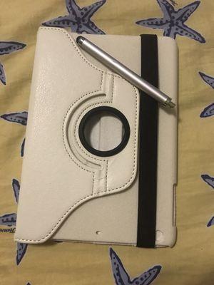 Apple iPad mini rotating case with screen pen for Sale in Miami, FL