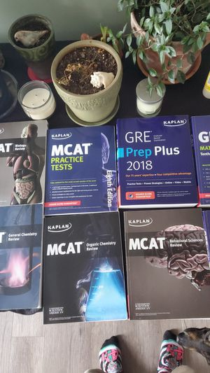 GRE and MCAT books. Selling individually for Sale in Morgantown, WV