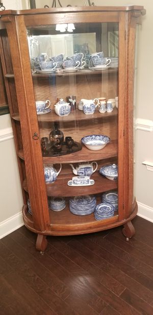 Antique China display cabinet Circa early 1900s for Sale in Lyman, SC