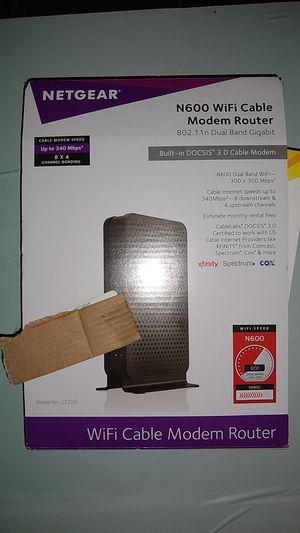 Netgear wifi router modem for Sale in Dearborn, MI