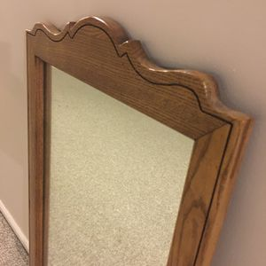 Very Beautiful and Elegant Wood Mirror**Great Deal** for Sale in Rochester Hills, MI