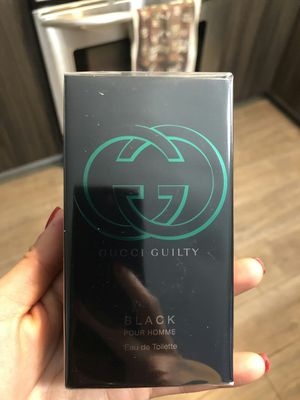 Brand new Gucci Guilty Black Intense Perfume 1.6 oz for men for Sale in Davie, FL