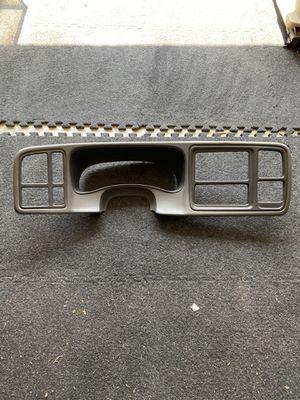 03-06 Chevy/GMC pewter dash bezel for Sale in Watauga, TX