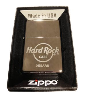 Hard Rock Cafe DESARU Collectible ZIPPO Lighter for Sale in Round Lake, IL