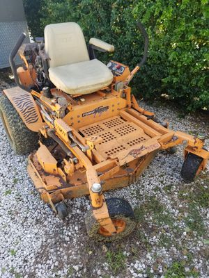 "Scag turf tiger 52"" 23 Kawasaki water cooled engine excellent shape only 1250 hours 3500.00 obo text {contact info removed} thanks for Sale in Fort Lauderdale, FL"