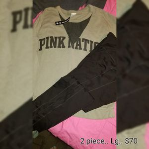 New VS PINK NATION 2 PIECE OUTFIT for Sale in Nichols, NY