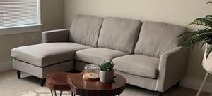 Reversible Sectional Couch for Sale in Arlington, MA