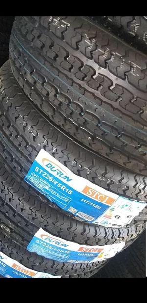 Trailer tires ST225 75 15 for Sale in Phoenix, AZ