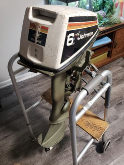 1979 Johnson 6hp short shaft outboard for Sale in Kissimmee,  FL
