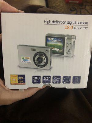 HD digital Camera (black) for Sale in Austin, TX