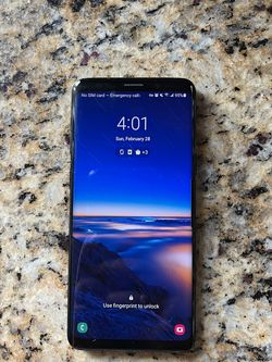 Samsung Galaxy S9 Unlocked for Sale in Bothell,  WA