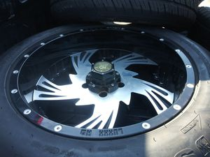 20s off-road. New 5x5 chevy rims for Sale in Fort Worth, TX