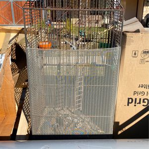 Really nice steel cages peacock bird lizard snake for Sale in Corona, CA