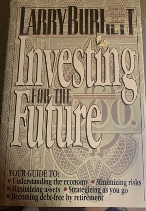 HARDBACK BOOK- INVESTING FOR THE FUTURE for Sale in Melbourne, FL