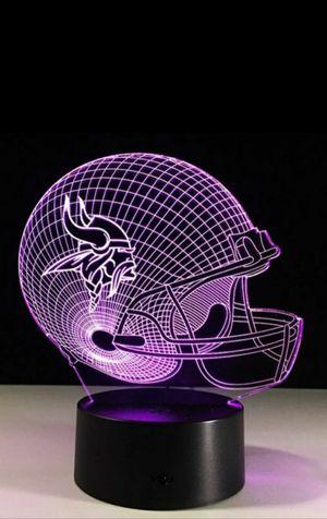 Minnesota Vikings NFL Night Light Lamp for Sale in Evesham Township, NJ