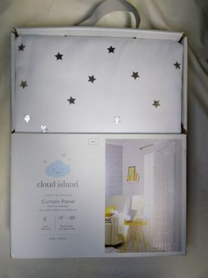 "Brand New in box - Blackout Curtain Panel Foil Stars (84"") for Sale in Burrillville, RI"