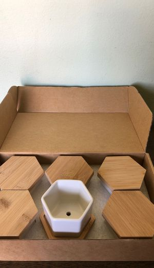 Mini succulent holders for Sale in Los Angeles, CA