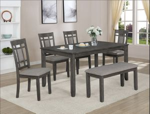 🇺🇸🎈👉table and bench plus 4 chairs $399👈🎈🇺🇸 for Sale in Fresno, CA