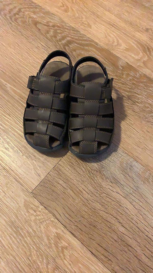 Toddler Boys Sandals- Size 9