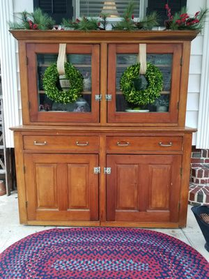 Charming Antique Mercantile Cupboard for Sale in Norfolk, VA
