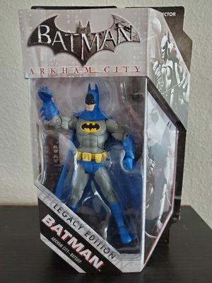 Mattel DC Universe Batman Arkham City Batsuit Legacy Edition 6-inch Exclusive Action Figure for Sale in San Diego, CA