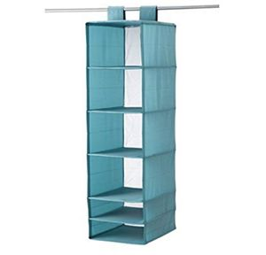 2 Closet Storage Organizer 6 Compartments, Light Blue and white for Sale in Chamblee, GA