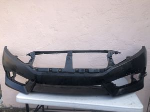 16-17 Civic Sedan Front Bumper for Sale in Rialto, CA