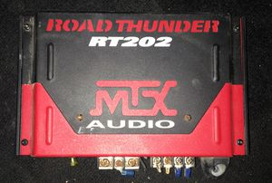 MTX RoadThunder RT202 2-channel car amplifier for Sale in North Las Vegas, NV