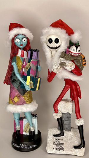 Jack Skellington and Sally Figures Nightmare Before Christmas NEW for Sale in Montebello, CA