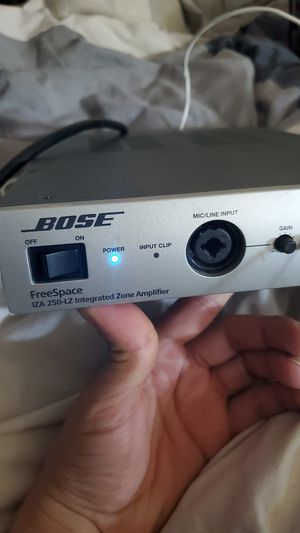 Bose freespace amp and 2 speakers for Sale in Dublin, CA