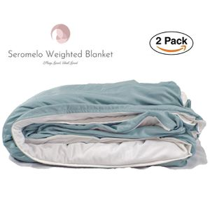 """BRAND NEW Sealed Package Weighted Blanket Set 