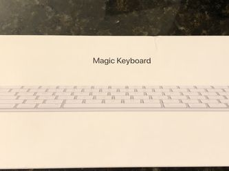 Apple Magic Keyboard MLA22LL/A A1644 for Sale in Lynnwood,  WA