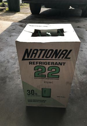 R22 Freon refrigerant new 30lb for Sale in Oceanside, CA