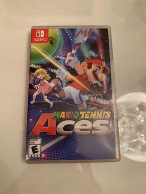 Mario Tennis Aces Nintendo Switch for Sale in Miami, FL
