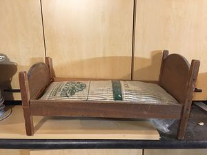 """Antique doll bed - approximately 22"""" x 11"""" for Sale in Redmond, WA"""