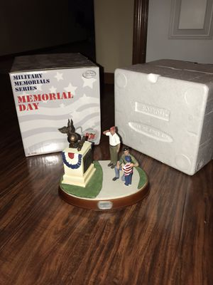 "Vintage Hasbro Military Metal Series GI Joe Statue Figure Limited Edition with box ""Memorial Day"" for Sale in Edgewood, WA"