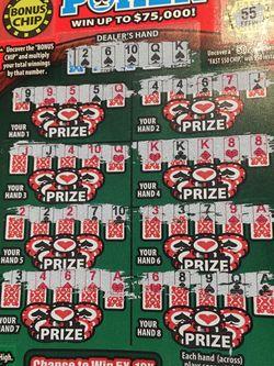 Winning lottery ticket for Sale in Lynwood,  CA